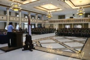 PMPP TNI Sosialisasikan Kiprah TNI dalam Perdamaian Dunia kepada Para Taruna AAU