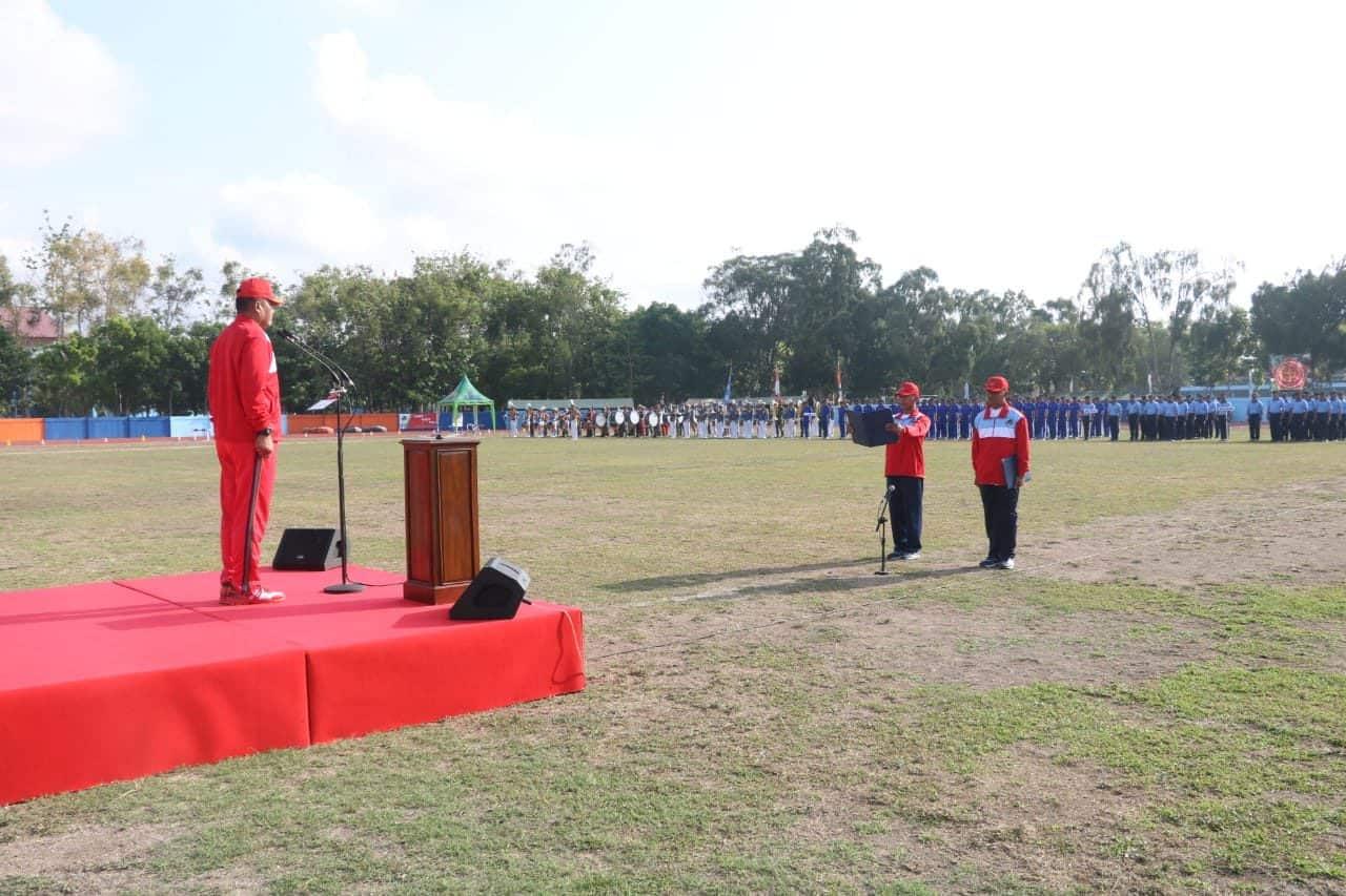 Kasum TNI Buka Kejurnas Atletik Piala Panglima TNI 2019 di AAU