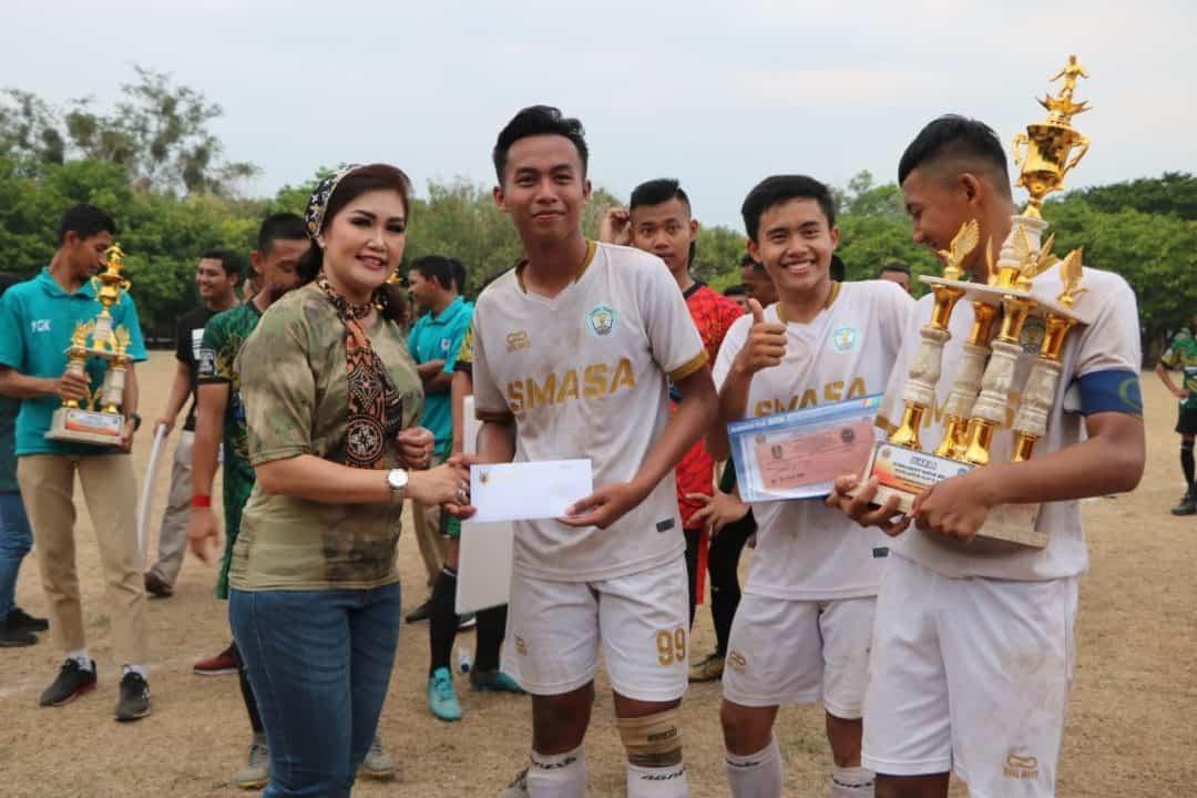 Smasa 1 Ngawi Juara pertama sepak bola Danlanud Iwj Cup