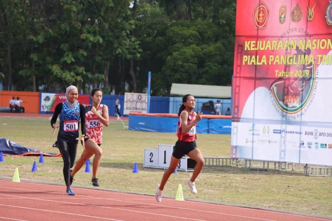 Final Berbagai Nomor Lomba Isi Hari Terakhir Kejurnas Atletik Piala Panglima TNI VII