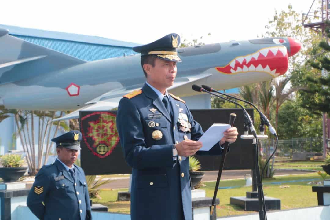 Peringatan Ke-74 Hari Pahlawan, di Lanud Sultan Hasanuddin