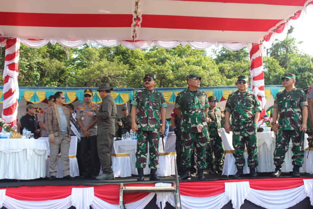 Danlanud YKU Timika, Letkol Pnb Sugeng Sugiharto, S.Sos Mengapresiasi Latihan Kesiapan Operasi (LKO) Terlaksana Dengan Lancar.