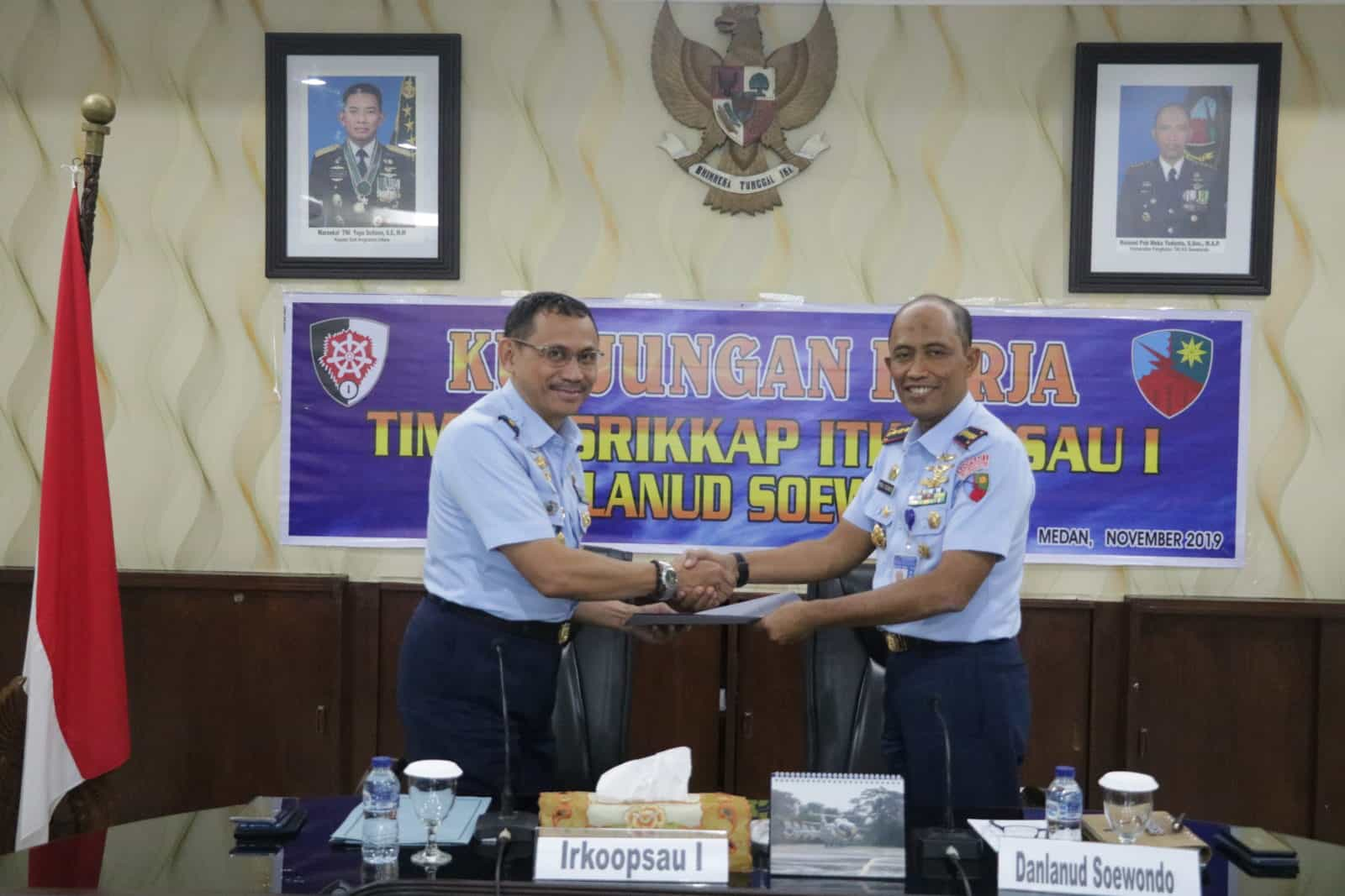Exit Briefing Tim Wasrikkap Itkoopsau I Di Lanud Soewondo