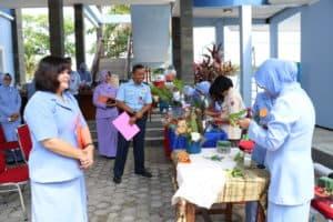 Pia AG Cab.10/D.II Lanud Dhomber Gelar Lomba Dirigen, Memasak Serta Lomba Merangkai Bunga dalam Rangka HUT ke-63 Pia AG Tahun 2019