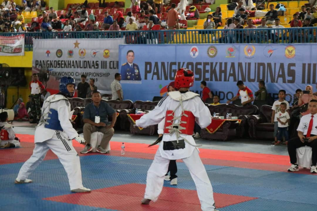 Kejuaraan Taekwondo Championship Pangkosekhanudnas III Cup 2019