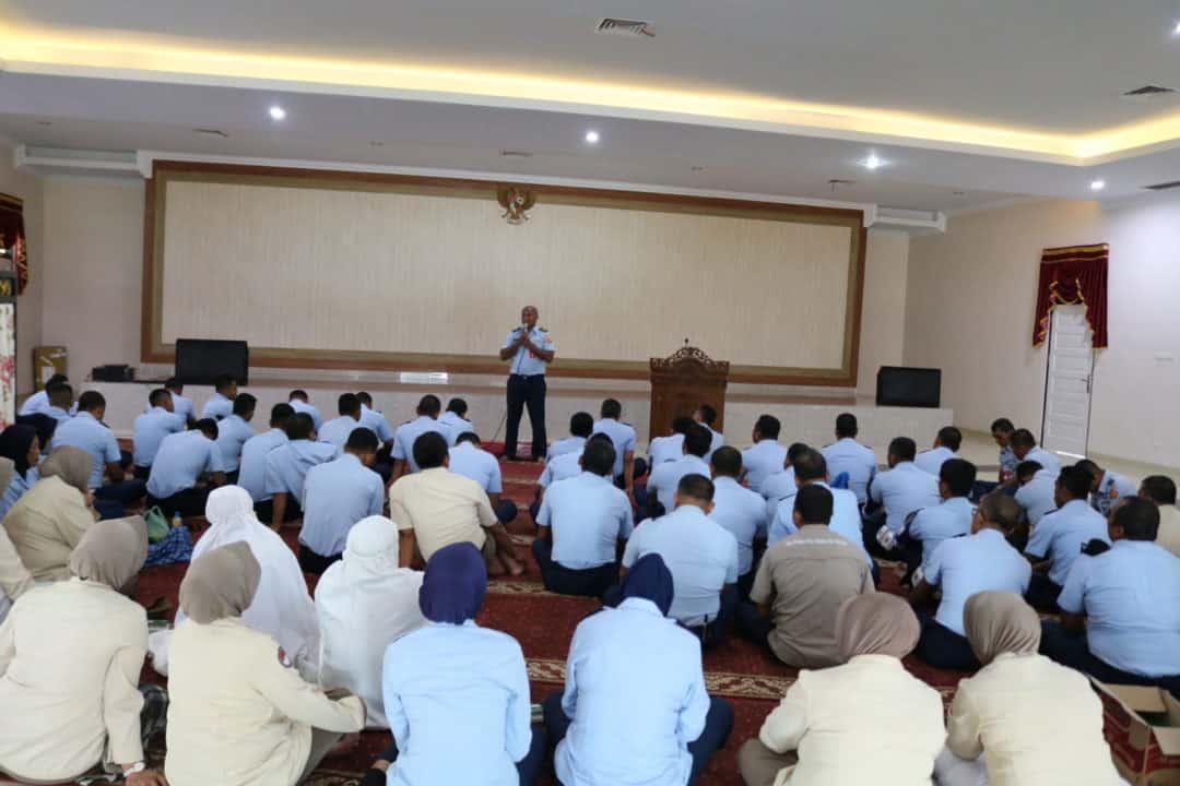 Tingkatkan Kualitas Iman Prajurit Kosekhanudnas III Laksanakan Pembinaan Rohani