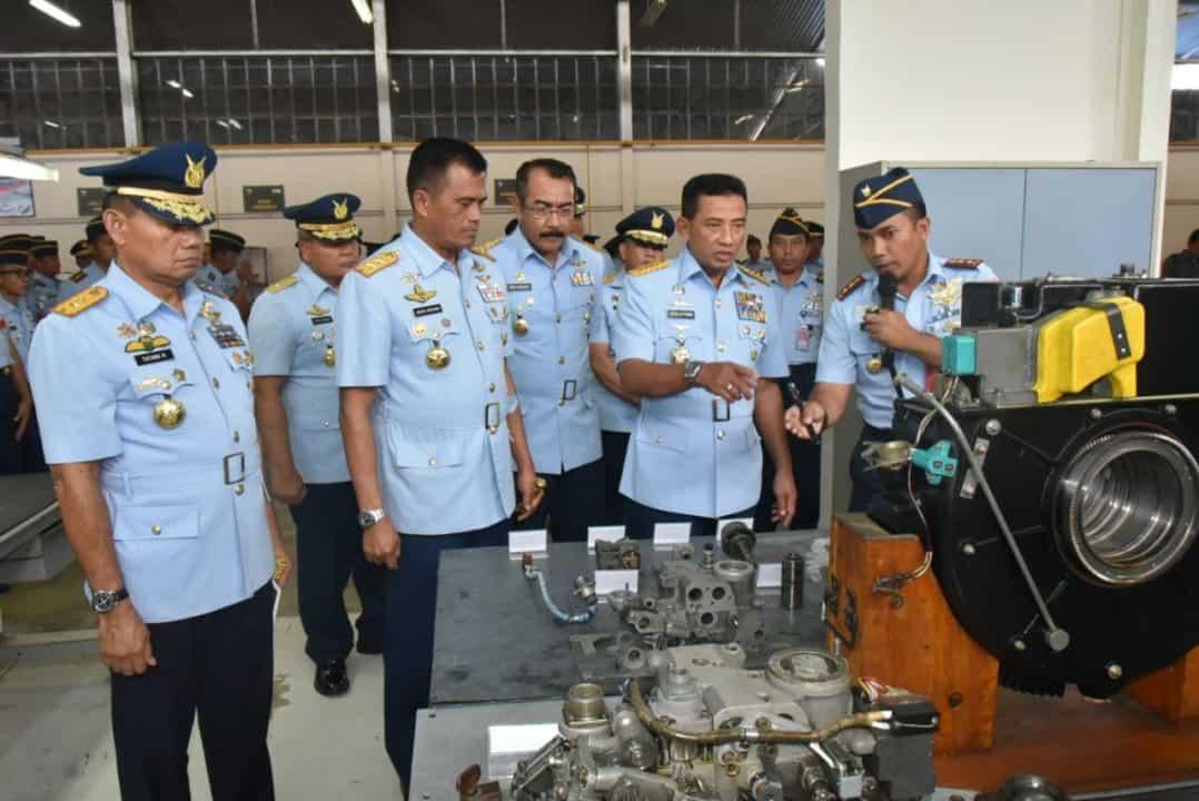 Kasau Bangga dan Puas Melihat Hasil Karya Putra-Putra TNI Angkatan Udara