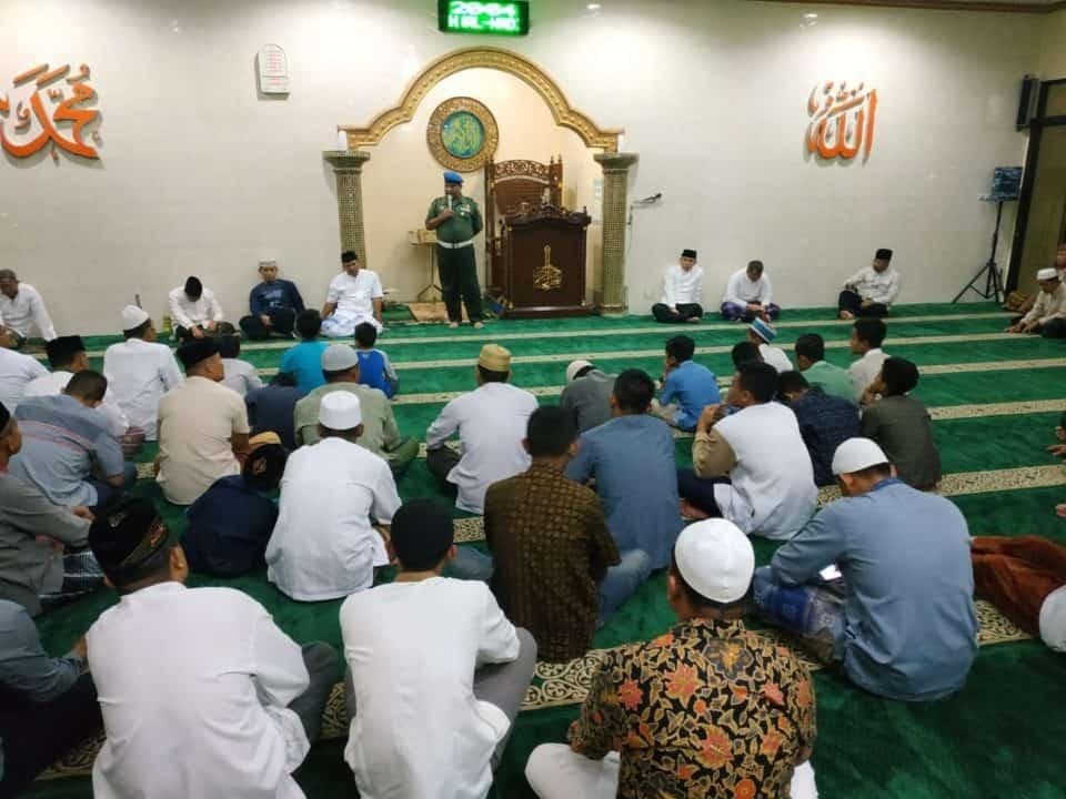 Warga Kompleks Lanud Abd Saleh Peringati Maulid Nabi Muhammad SAW