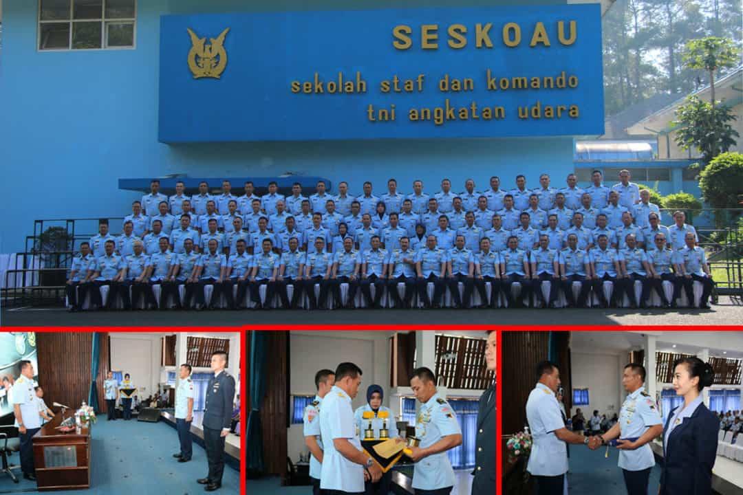Mayor Pnb Made Yogi Indra Prabowo, Siswa Terbaik Seskoau A-56