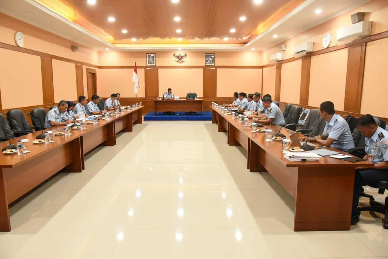 Wadankoharmatau, Memimpin Rapat Koordinasi Program Kerja dan Anggaran