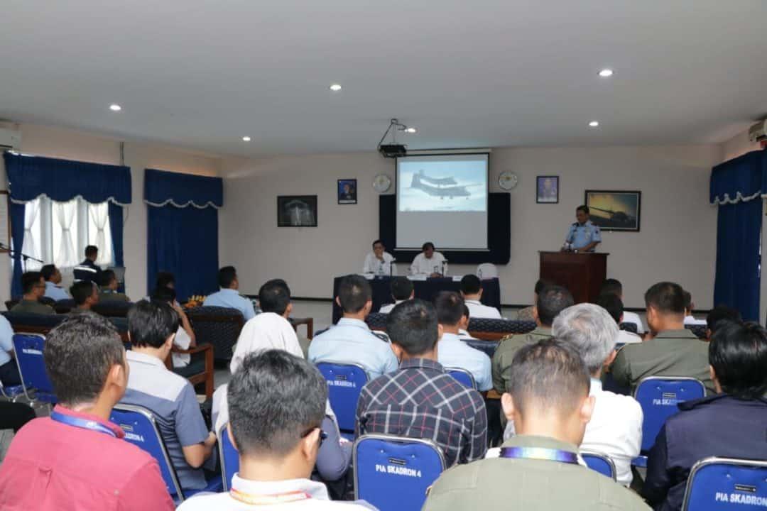 Lanud Abd Saleh Tuan Rumah Teknologi Modifikasi Cuaca di Daerah Aliran Sungai Brantas