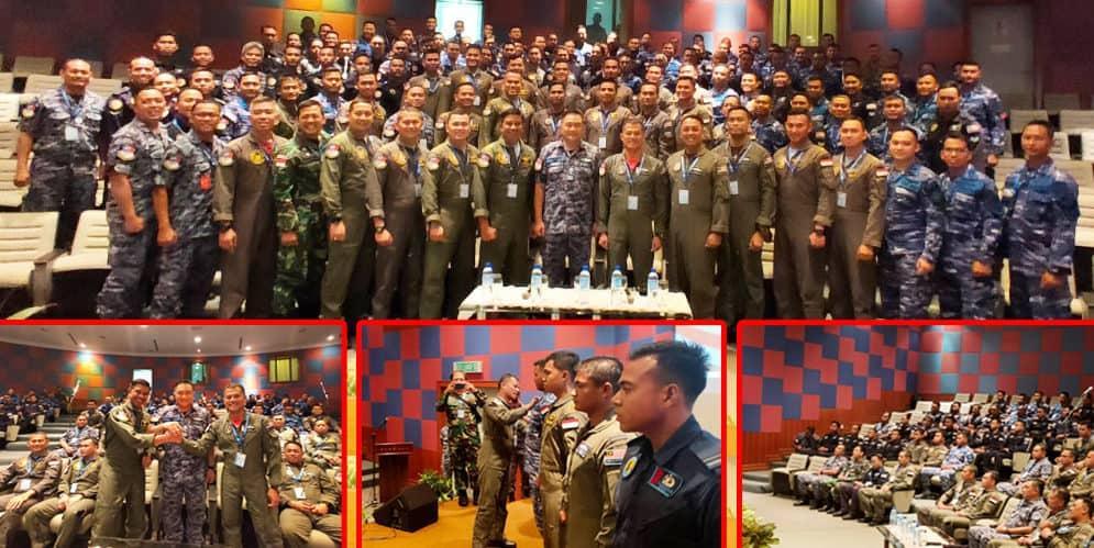 TNI AU dan TUDM Gelar Latma Elang Malindo