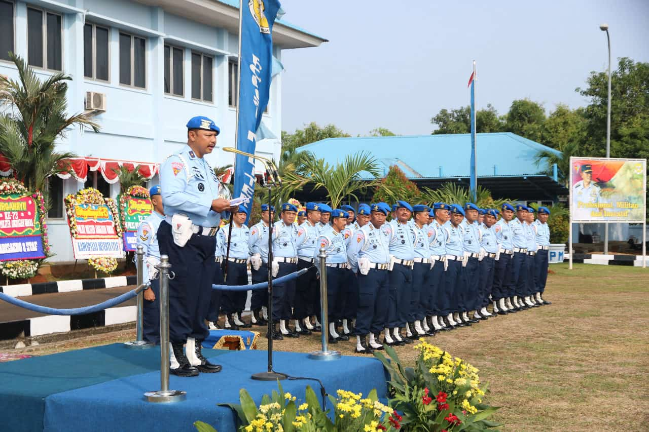 Kontribusi Nyata Tegaknya Hukum dan Disiplin di Lingkungan TNI AU HUT Ke-73 Polisi Militer Angkatan Udara Kasau: Pomau Berikan Kontribusi Tegaknya Hukum dan Disiplin