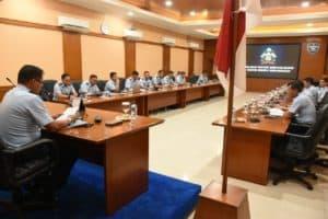 Wadan Koharmatau, Memimpin Rapat Koordinasi Program Kerja Dan Anggaran