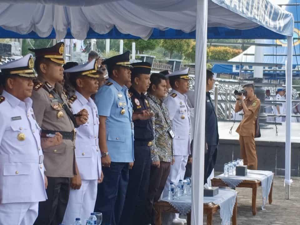 Danlanud RHF Hadiri Sertijab Danyonmarhanlan IV Tanjungpinang