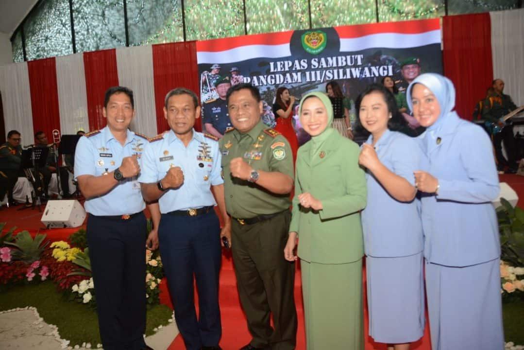 LEPAS SAMBUT PANGDAM III /SILIWANGI