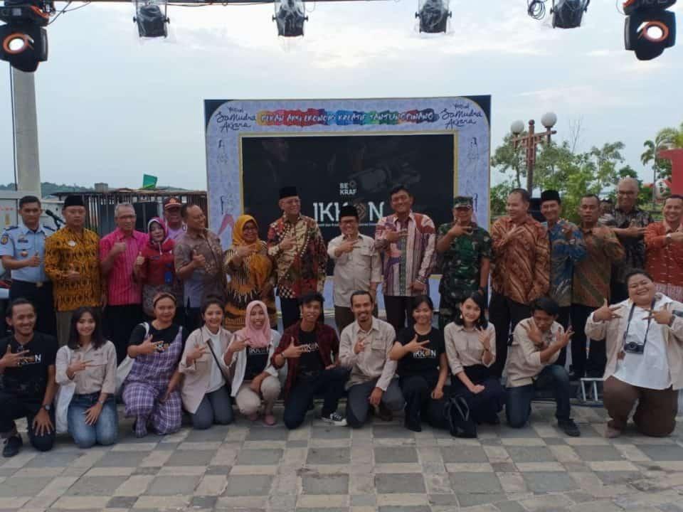 Danlanud RHF Hadiri Pembukaan Festival Samudra Aksara 2019