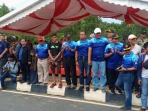 Danlanud RHF Turut Hadir dalam Pembukaan Drag Bike Racing and Freestyle di Bintan