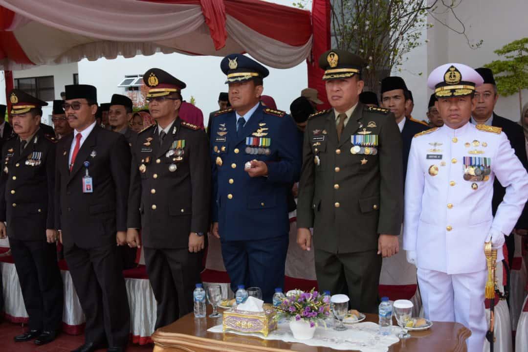 Danlanud RHF Hadiri Upacara Hari Pahlawan ke-74 Provinsi Kepri