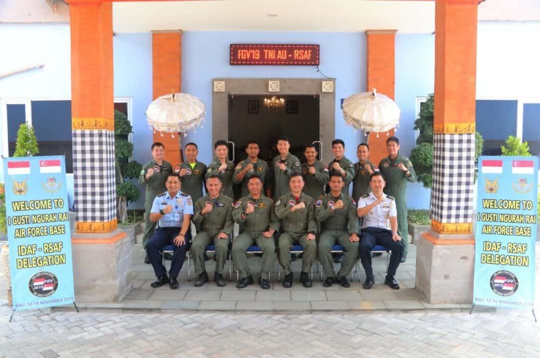 "TNI AU dan RSAF Gelar ""Fighter Goodwill Visit"" di Lanud I Gusti Ngurah Rai"