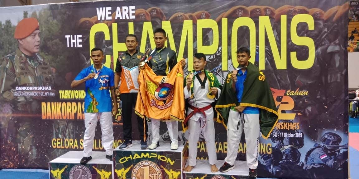 Dojang Taekwondo Lanud S. Sukani Koleksi 5 Medali Dalam Dankorpaskhas Cup V