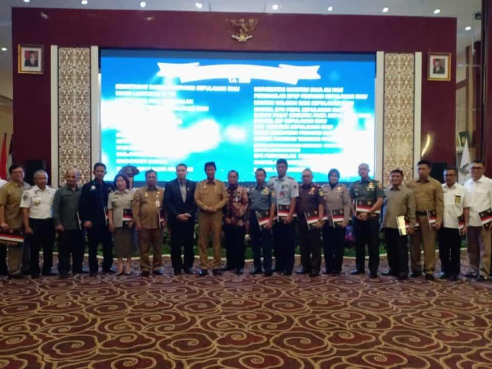 Danlanud RHF Hadiri Penyerahan DIPA Kepulauan Riau TA 2020