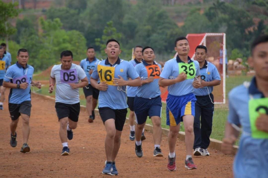 Prajurit Lanud RHF Laksanakan Samapta Semester II Tahun 2019
