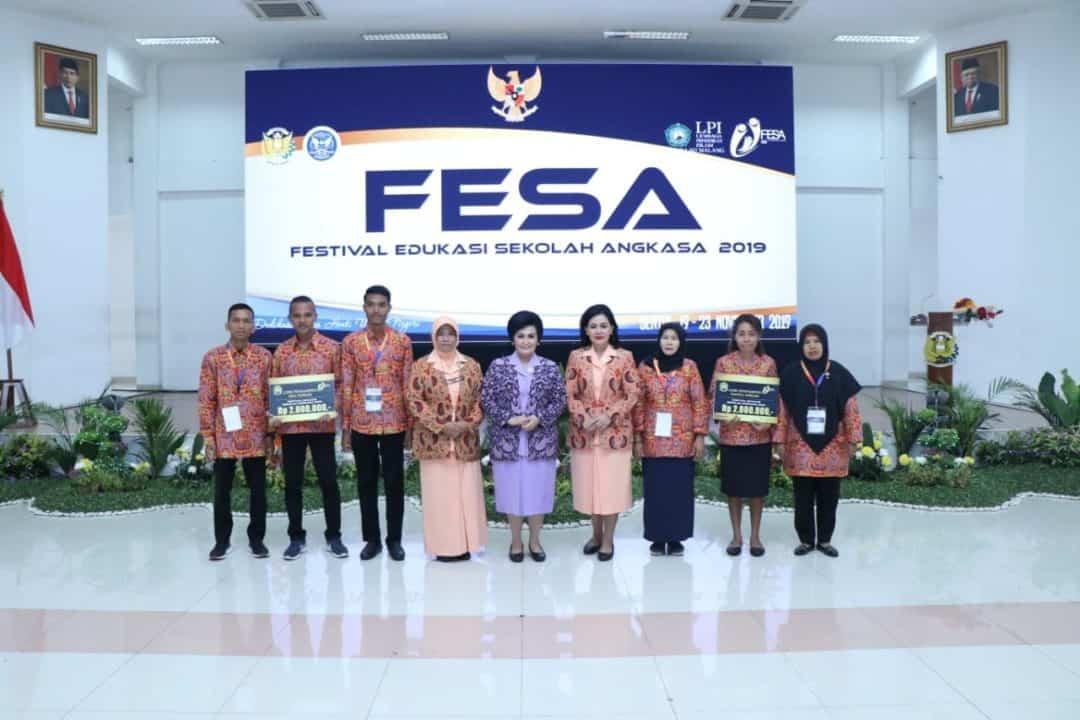 Sekolah Angkasa Lanud Sutan Sjahrir Ukir Prestasi Lagi Di Festival Edukasi Sekolah Angkasa (FESA) III Tahun 2019