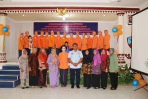 Peringatan Hut ke-63 Pia Ardhya Garini di Lanud Pangeran M. Bun Yamin