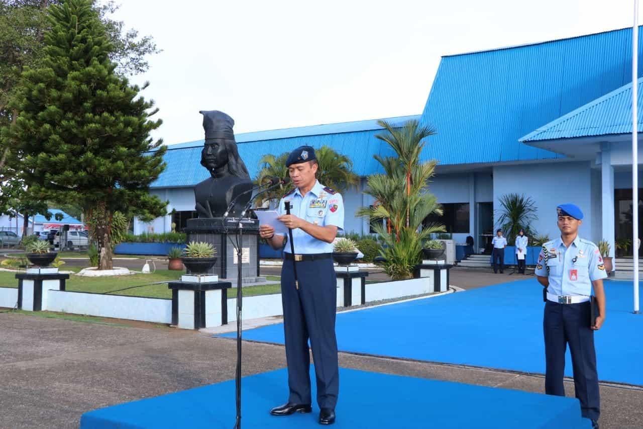 Upacara Hari Bela Negara 2019 di Lanud Sultan Hasanuddin
