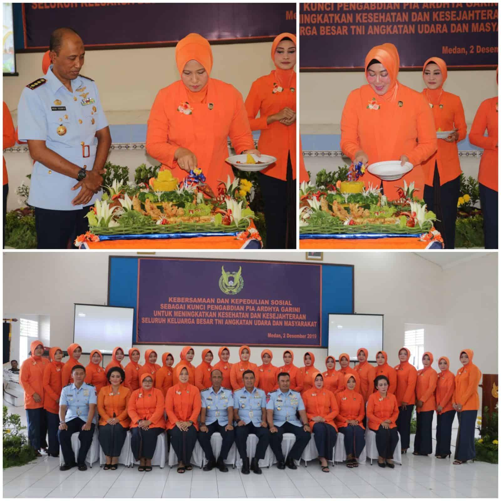 PIA AG Bakorcab Medan Peringati HUT Ke-63 PIA AG Tahun 2019