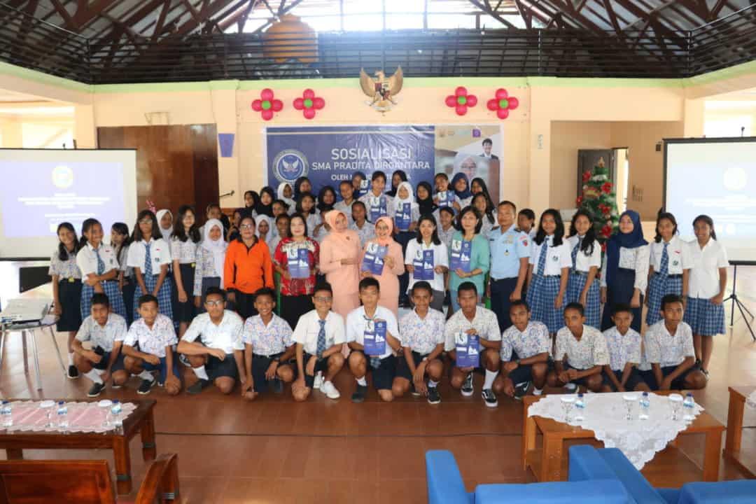 Lanud Pattimura Sosialisasikan SMA Pradita Dirgantara