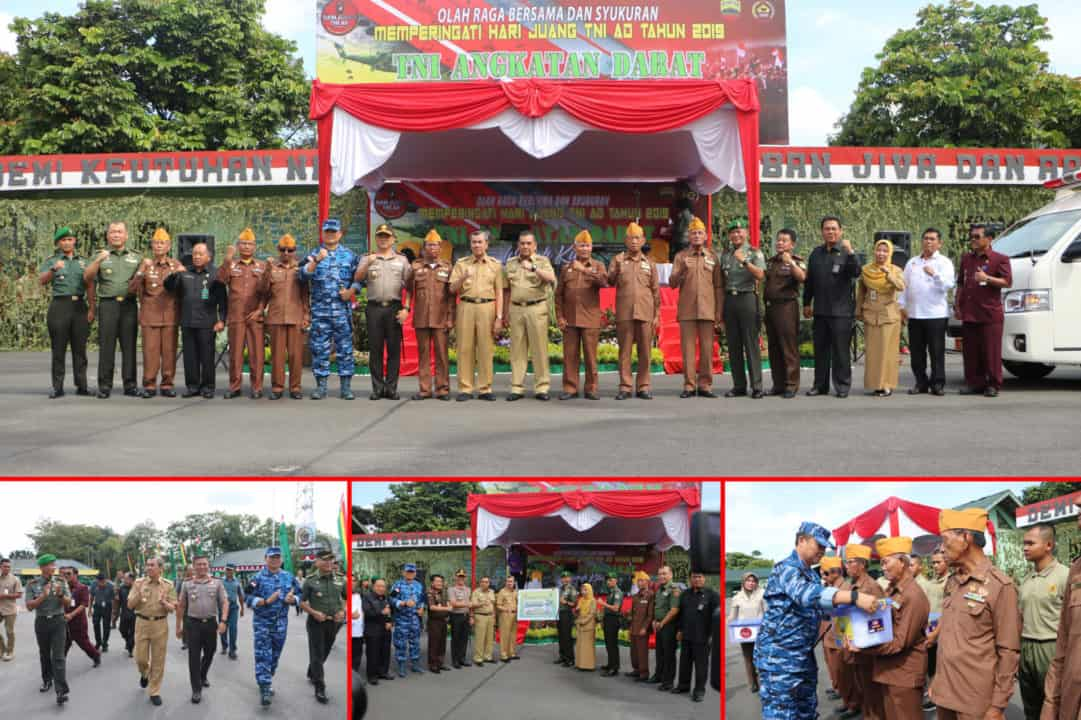 Danlanud Rsn Hadiri Syukuran Hari Juang TNI AD