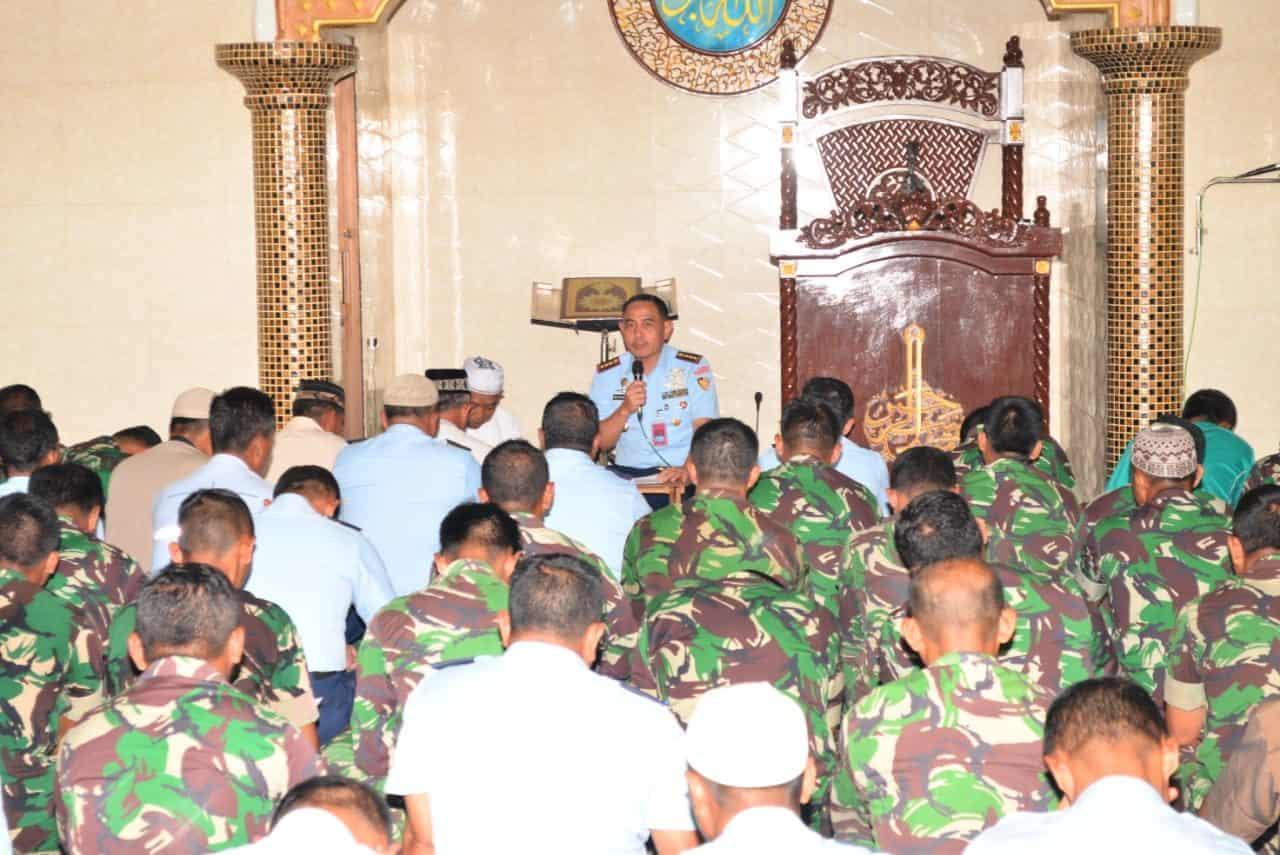 Lanud Abdulrachman Saleh Selenggarakan Doa Bersama Sambut Tahun Baru 2020