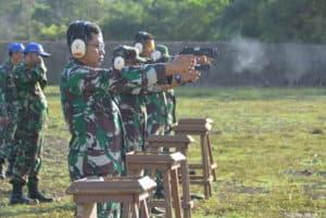 Danlanud Sim Motivasi Anggota Mahir Menembak