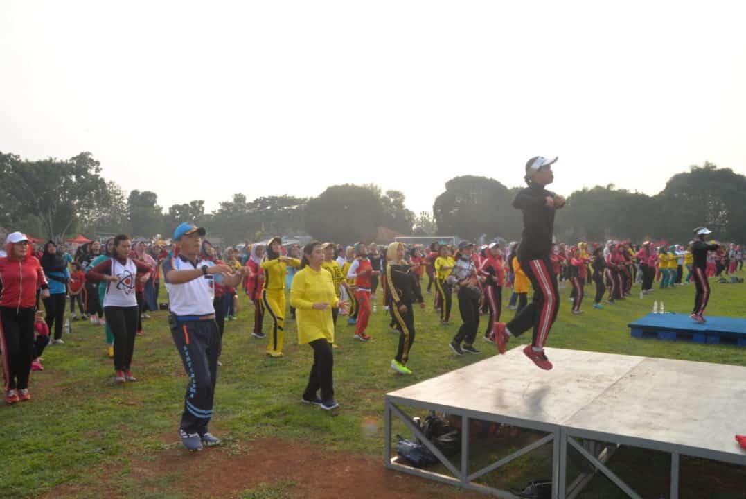 Ribuan Warga Subang Serbu Sunday Morning Lanud Suryadarma