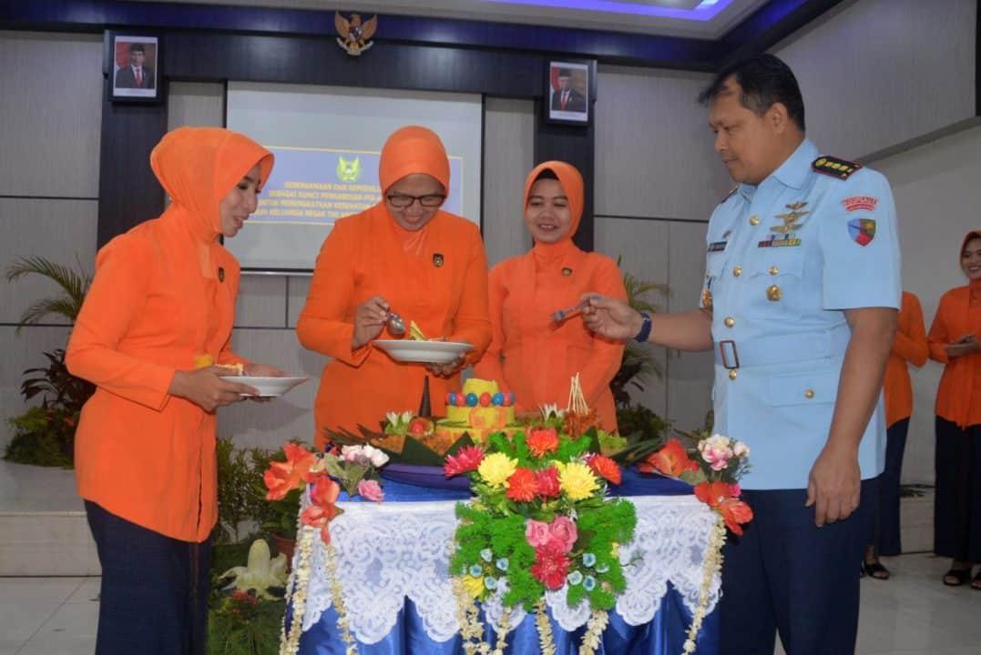 HUT PIA Ardhya Garini Ke-63 Tahun 2019 Di Lanud Sjamsudin Noor