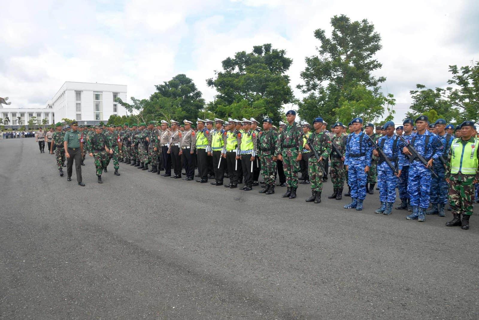 Upacara Gelar Pasukan Pengamanan RI 2 Wilayah Kalimantan Selatan