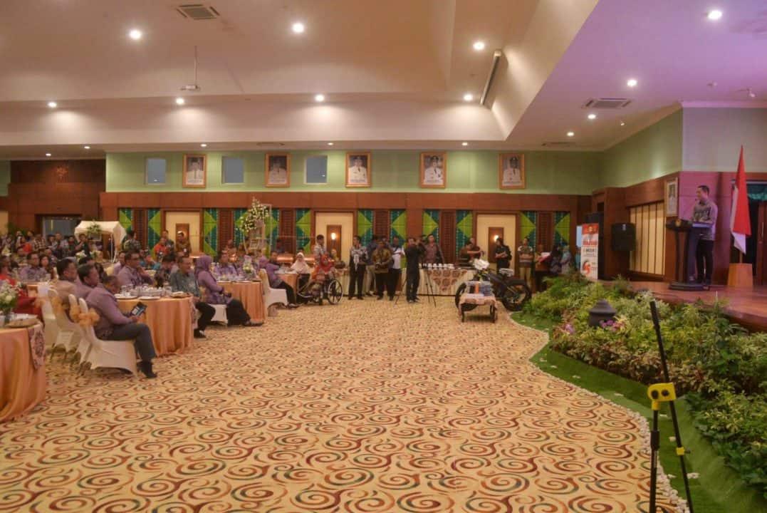 Jelang Puncak HKSN 2019, Komandan Lanud Sjamsudin Noor Ikuti Malam Refleksi Wawasan Kebangsaan Bersama Mensos RI