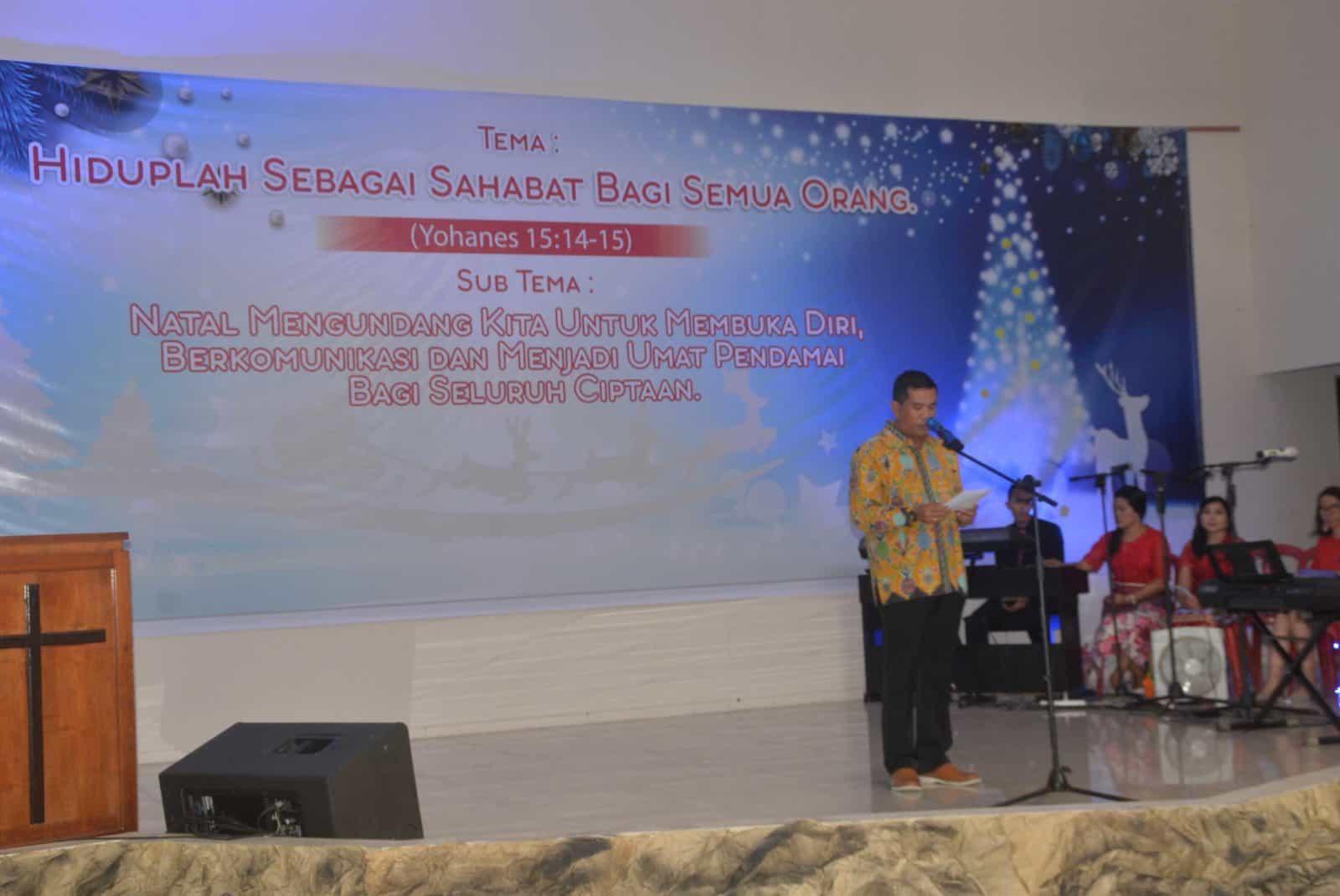 Perayaan Natal Tahun 2019 di Gereja Oikumene GPIB Immanuel Lanud Sjamsudin Noor