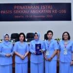 Penatris Sekkau A-106, Ketum PIA-AG: Istri Perwira Harus Miliki Pengetahuan Luas dan Bekal Keterampilan