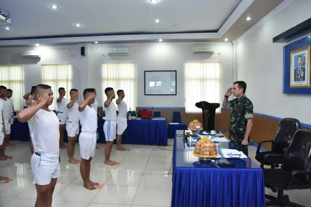 KOMANDAN LANUD SULTAN HASANUDDIN PIMPIN SIDANG PANTUKHIRDA CALON BINTARA TNI AU