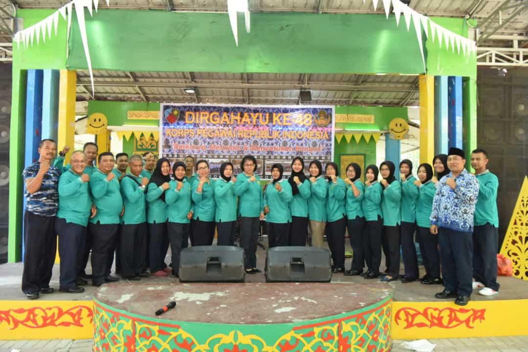 Family Gathering Peringati HUT Ke-48 KORPRI Lanud Rsn