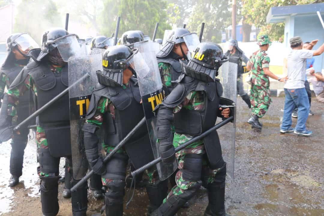 SENGKETA TANAH MILIK TNI AU YANG DITEMPATI WARGA KEC. MARGAHAYU