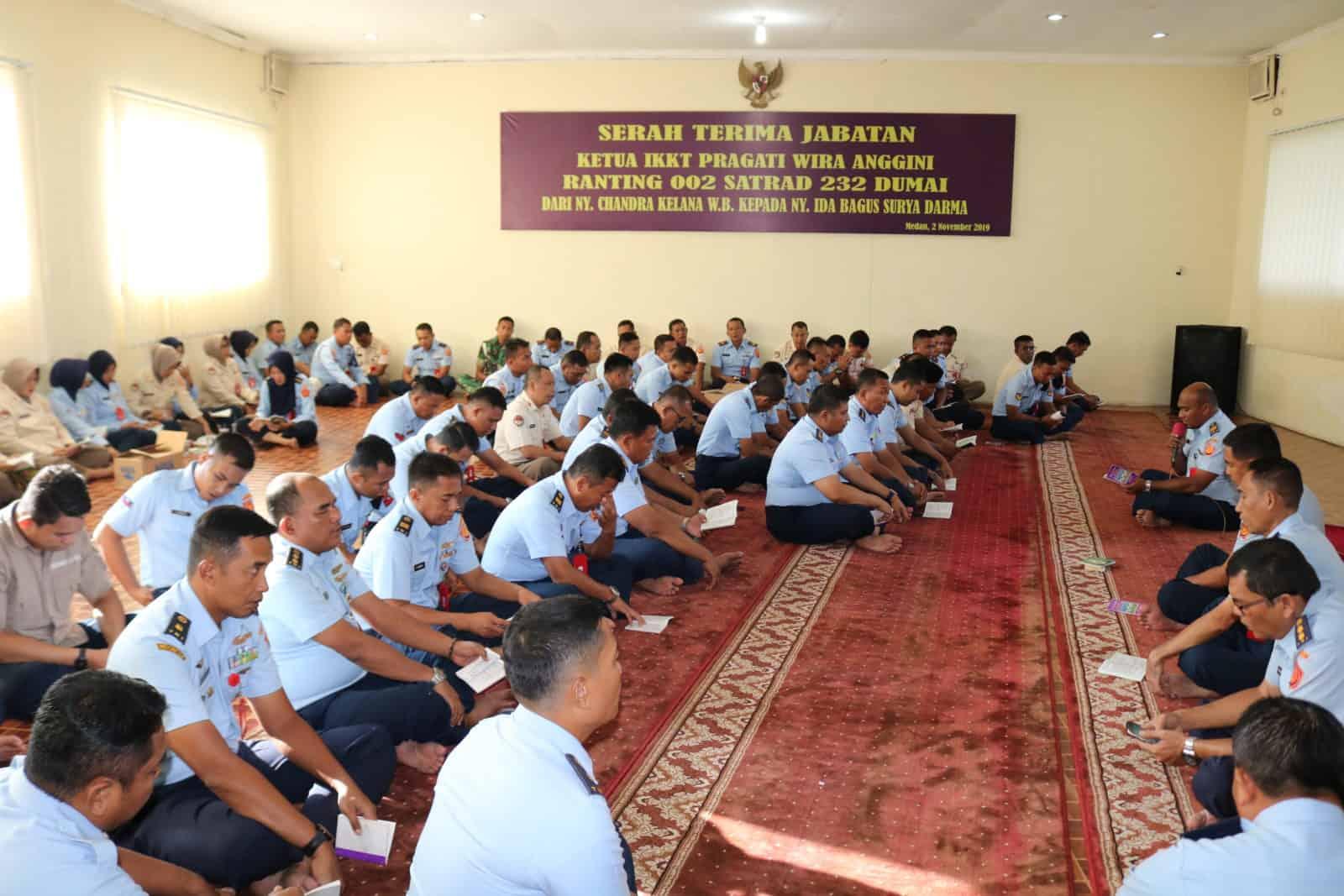 Kosekhanudnas III Gelar Doa Bersama Dalam Rangka Menyambut Tahun Baru 2020