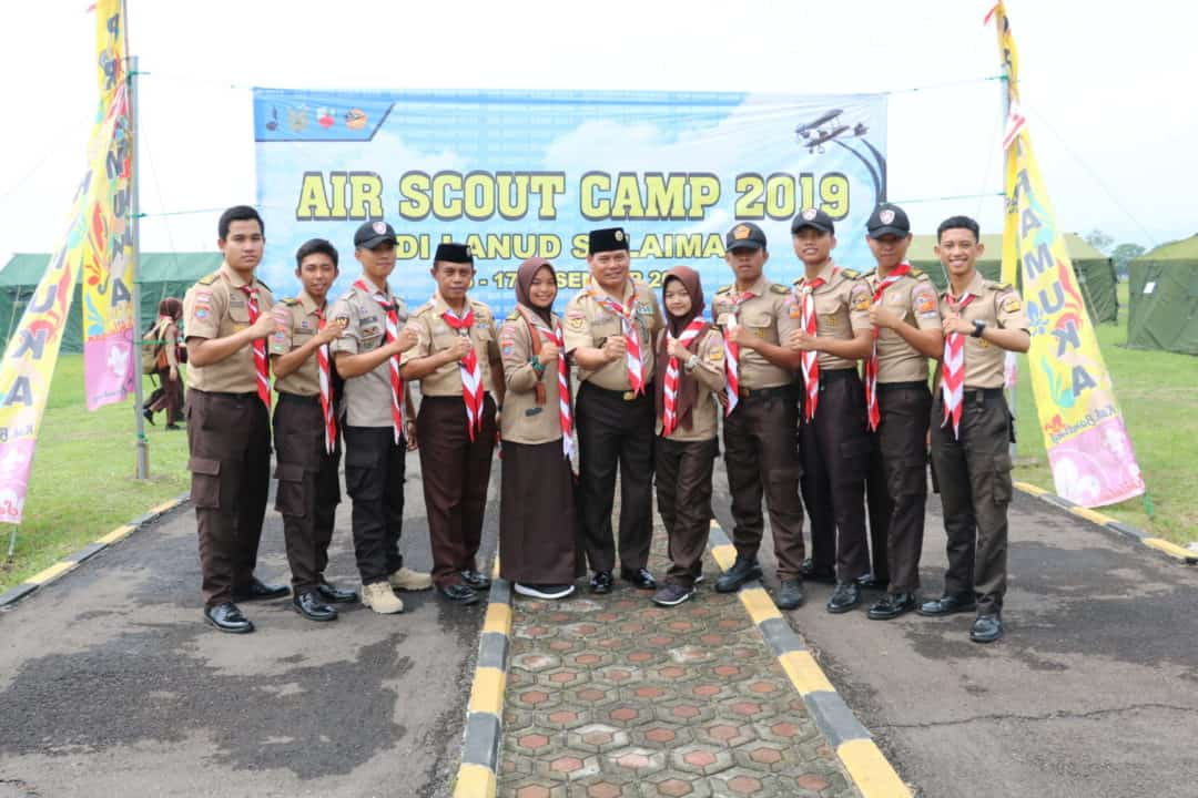 AIR SCOUT CAMP 2019 DI LANUD SULAIMAN