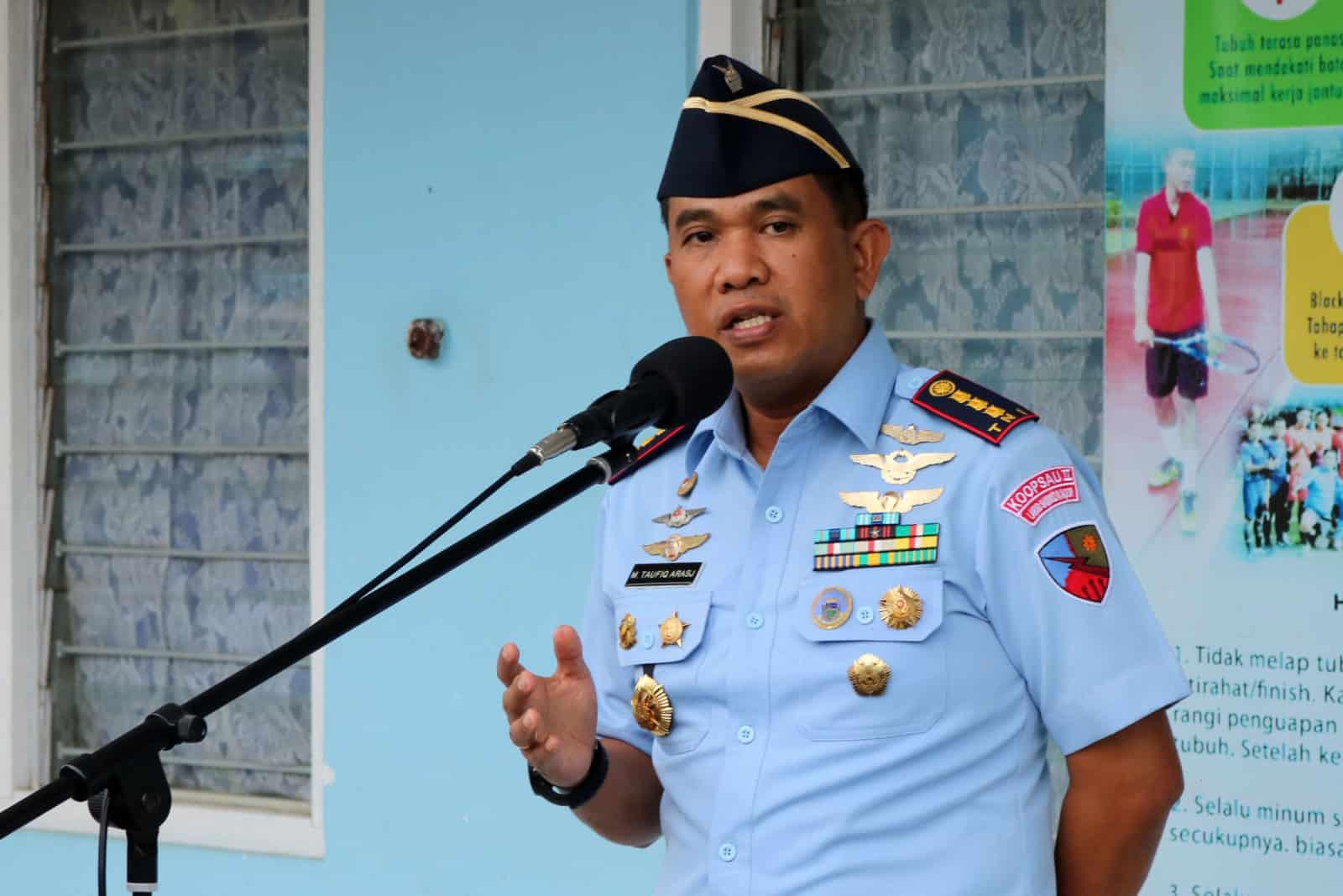 """Komandan Lanud Sjamsudin Noor ; """"Jadilah Prajurit Yang Produktif, Kreatif dan Inovatif """""""