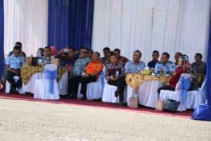 Kolonel Nav Medi Rachman, S.E. MBA Avi Mgt, MMOASc, PhD, yang merupakan Alumni AAU 1995 jabat Komandan Lanud (Danlanud) Sutan Sjahrir Padang.