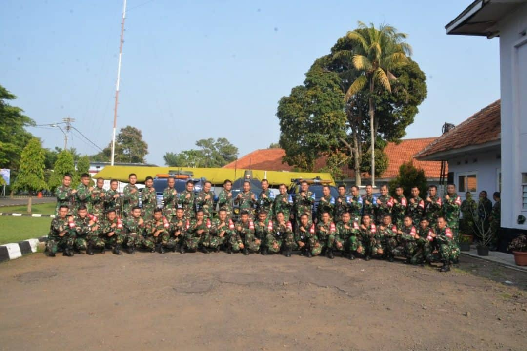 Latihan Perang Elektronika di Lanud Atang Sendjaja