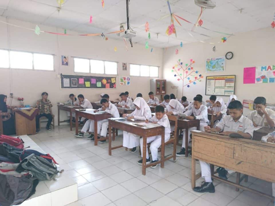SMP Angkasa Adisutjipto Laksanakan Tes Penilaian Akhir Semester (PAS)